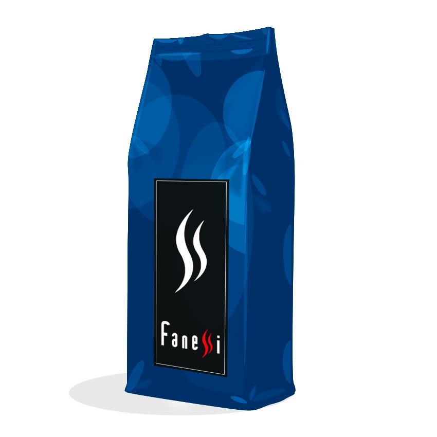 Paquete de cafe en grano descafeinado - Cafes Fanessi