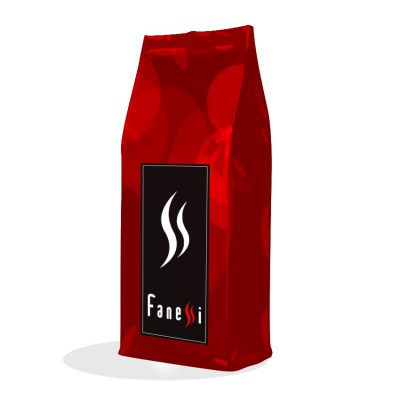 Paquete de cafe en grano - Cafe ristretto intenso - Cafes Fanessi