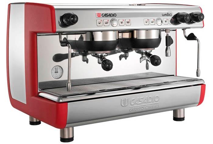 Maquina de cafe - Casadio Undice - Fanessi cafés