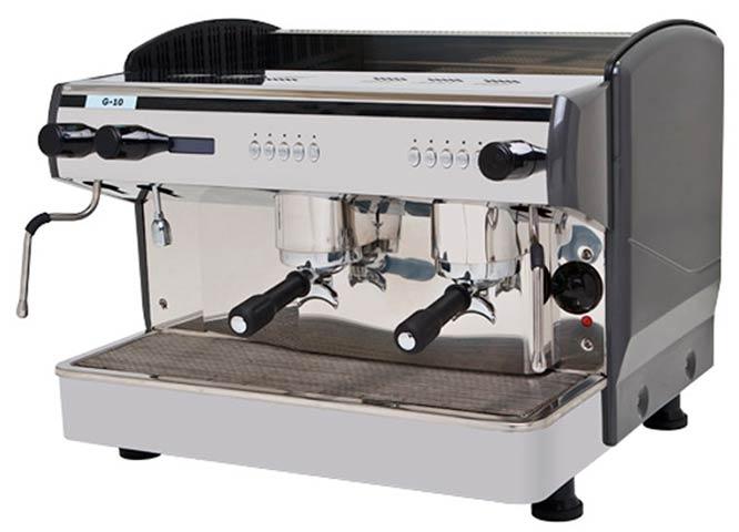 Maquina de cafe Expobar G10 - 2 grupos - Cafe Fanessi